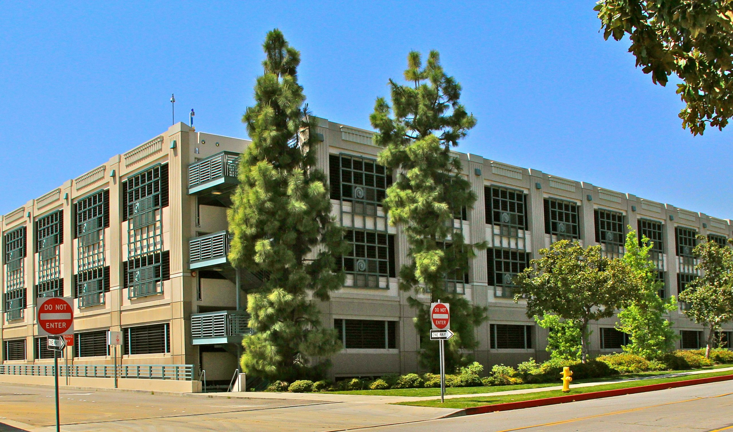 Pasadena City College Parking Structure