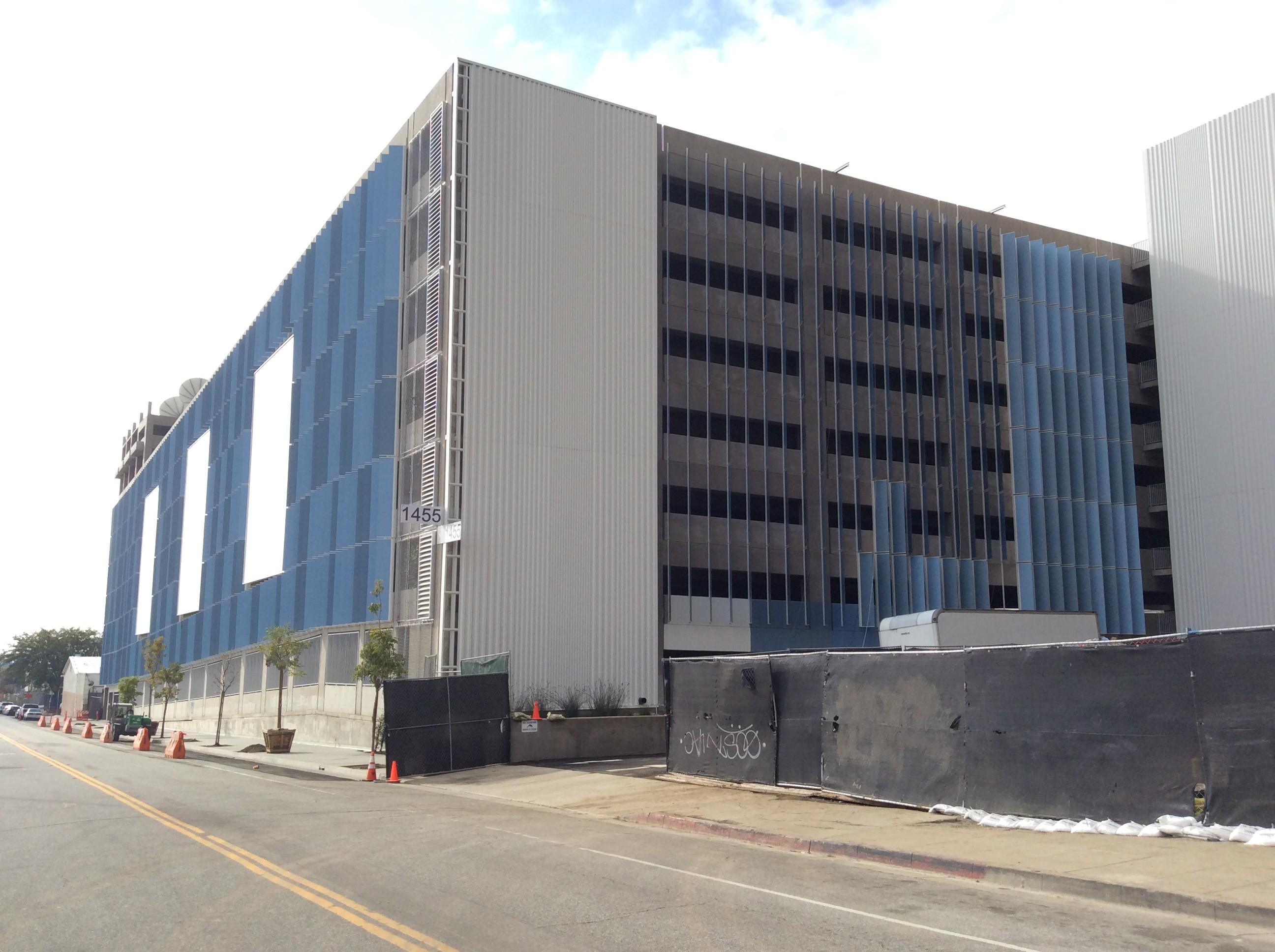 Sunset Bronson Studios Parking Structure