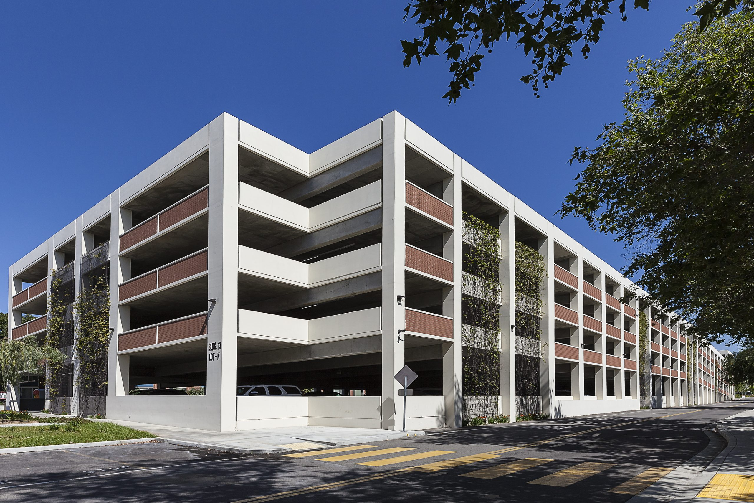 Biola University Lot K Parking Structure