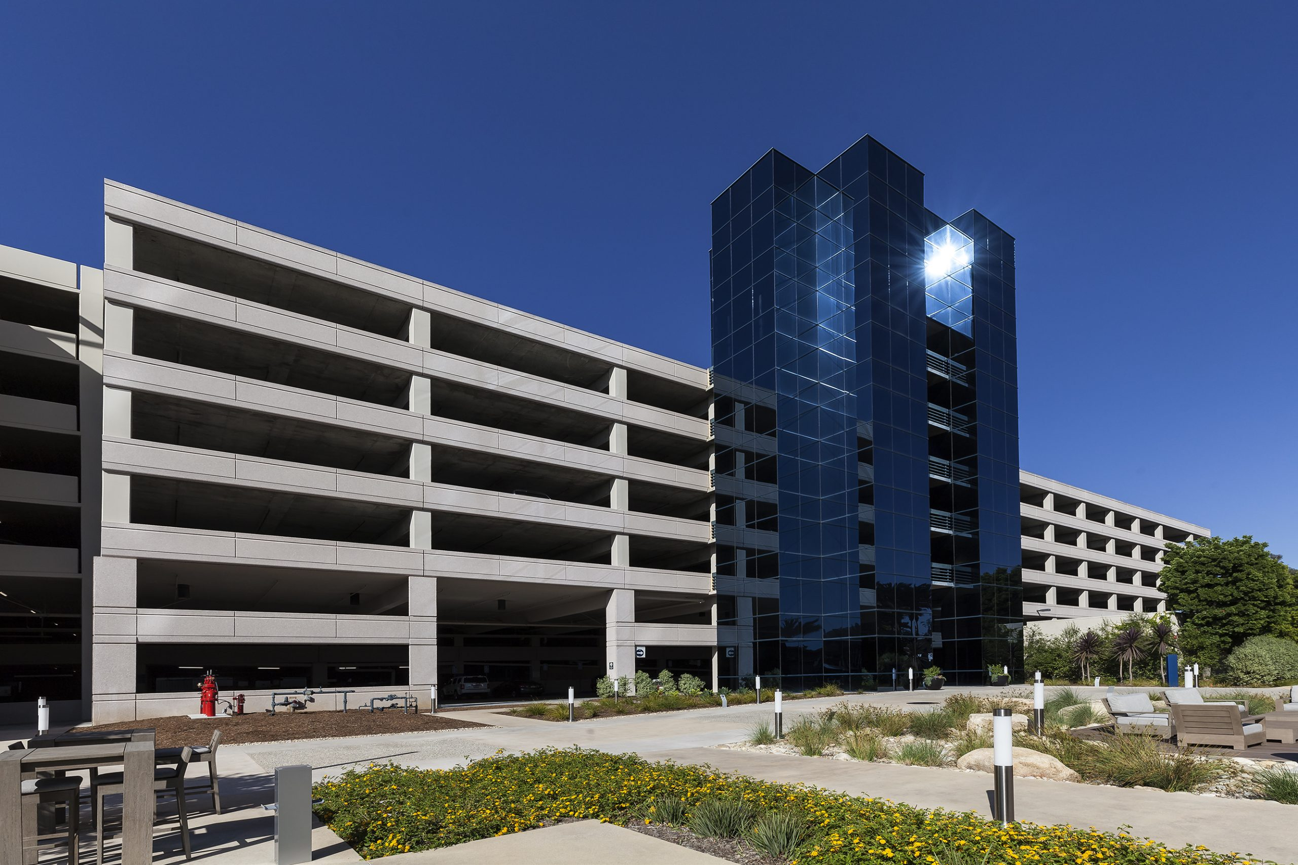 Lakeshore Towers Parking Structure