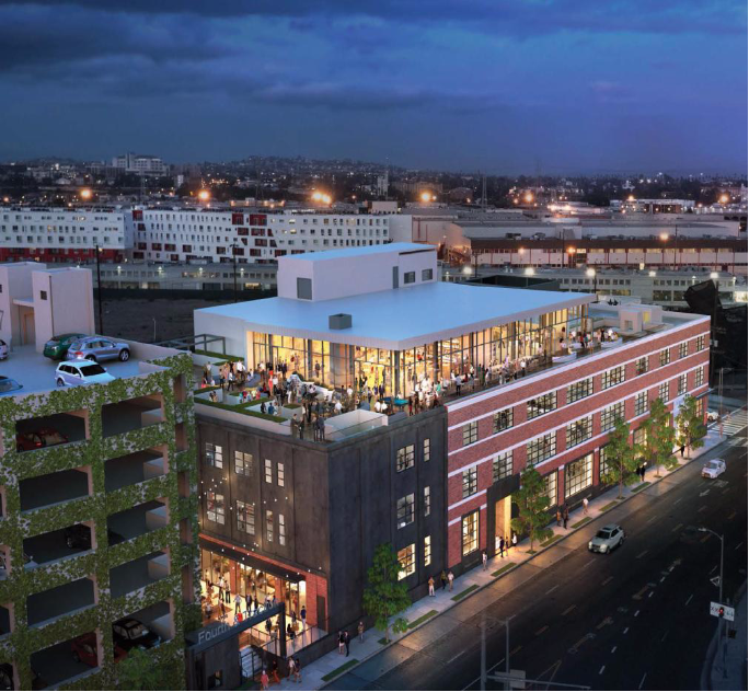 4th and Traction Parking Structure