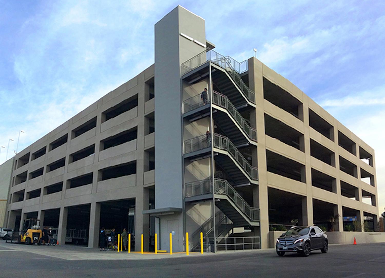 Sunset Gower Studios Parking Structure