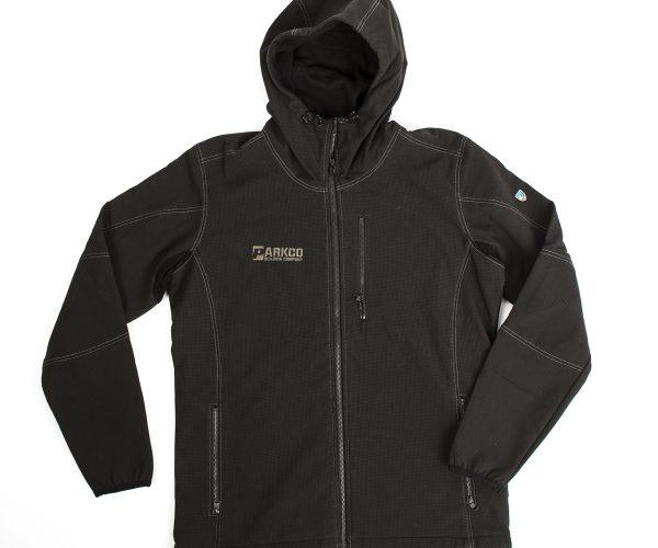 Charcoal Fleece Hoodie 1