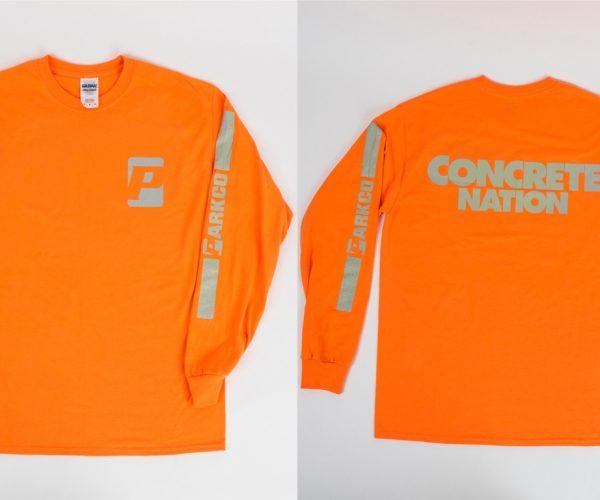 Orange Concrete Nation Long Sleeve