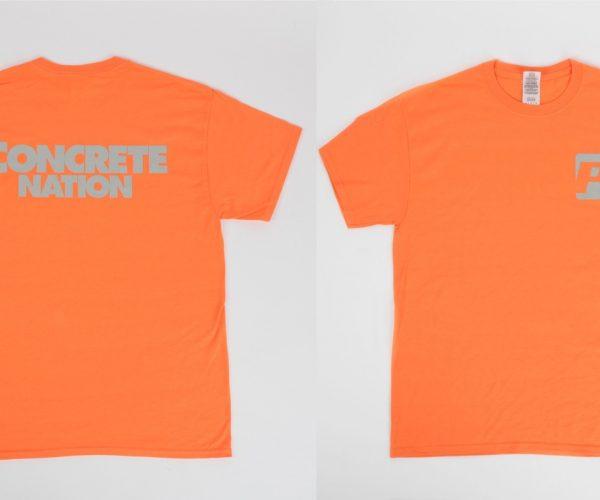 Orange Concrete Nation Short Sleeve