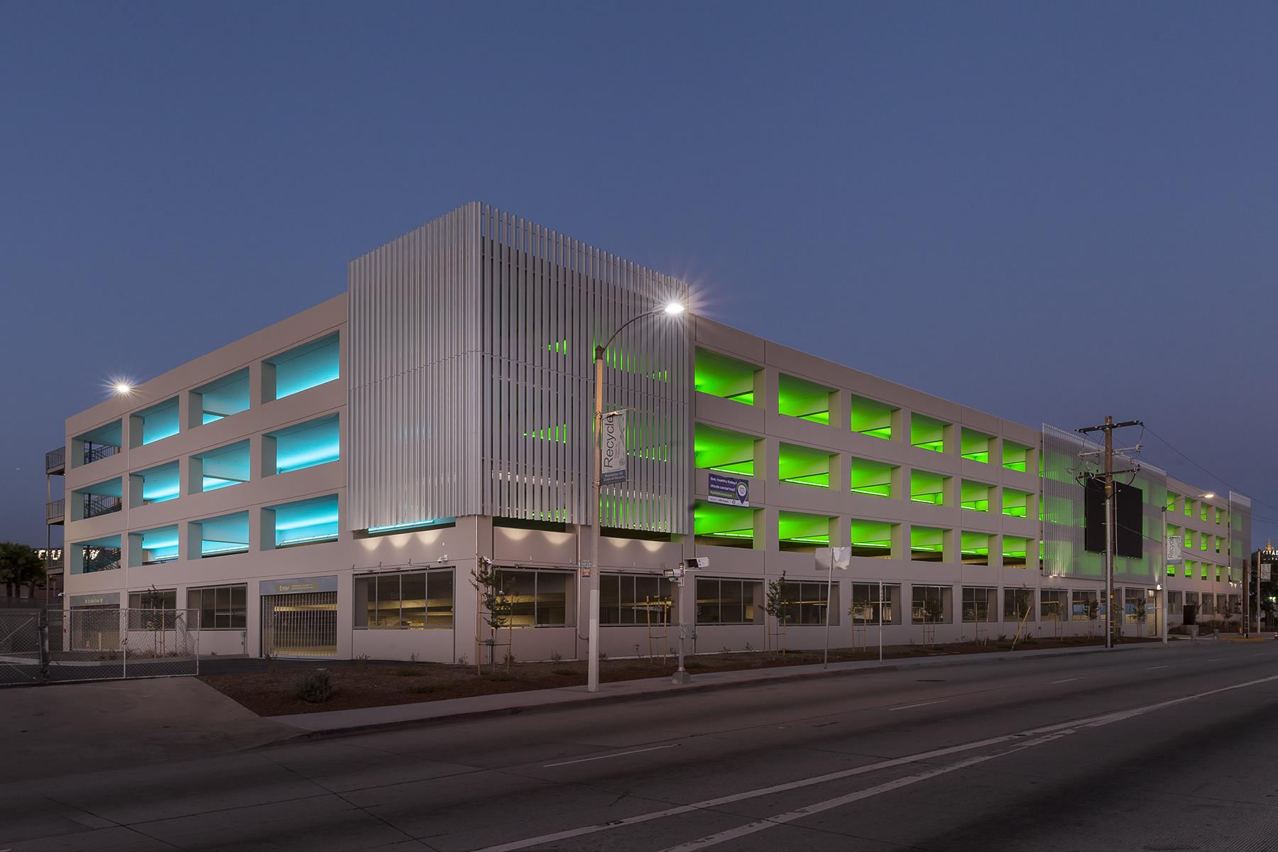 Alta Med Parking Structure